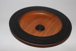 Textured mahogany (With india ink)