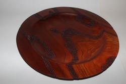 Cedar dot platter