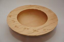 Footprints bowl