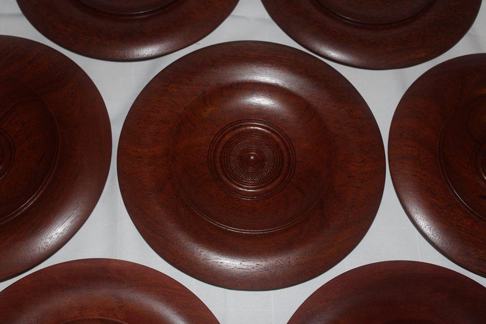 Jarrah platters