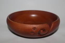 Cedar yarn bowl
