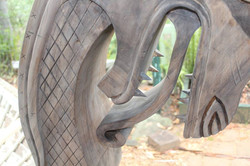Dragon viking ship