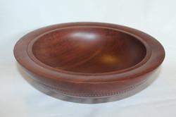 Snakewood bowl