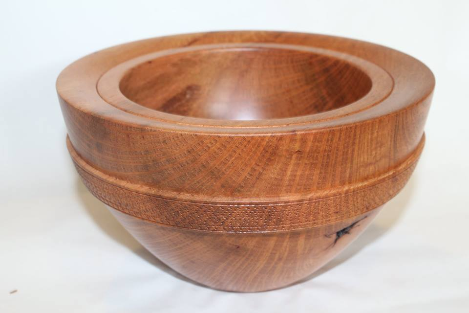 Lace sheoak deep bowl