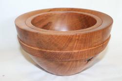 Lace sheoak deep bowl