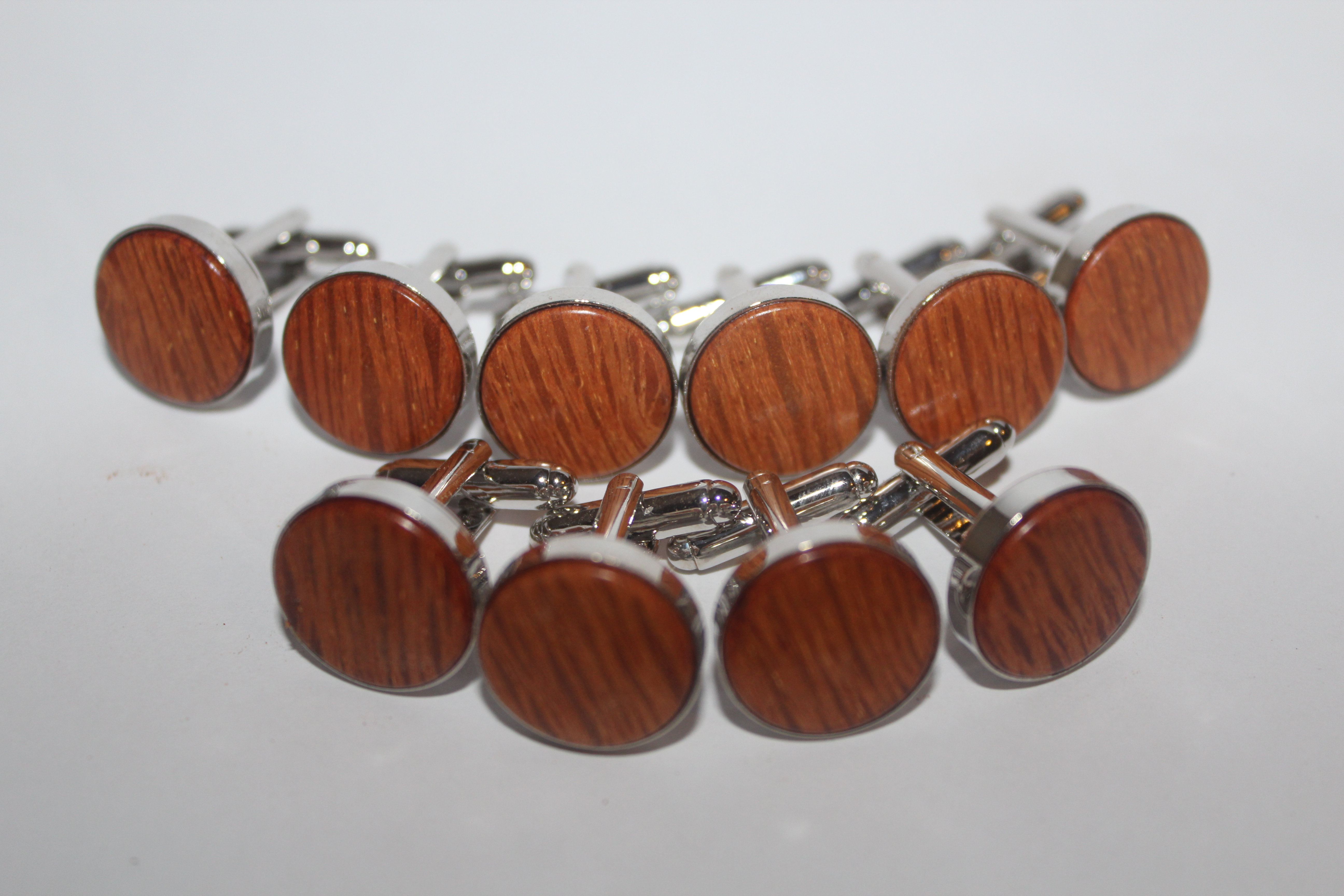Lace sheoak cufflinks