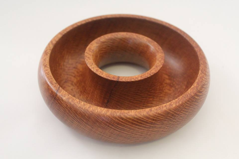 Silky oak torus bowl