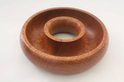 Silky oak torus bowl