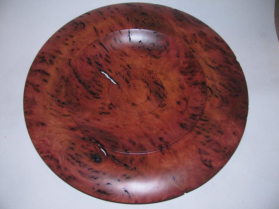 Jarrah burl platter