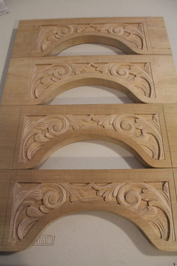 carved rails