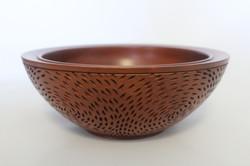 Rosewood bowl