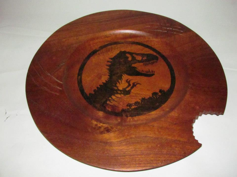 Cedar Jurassic platter