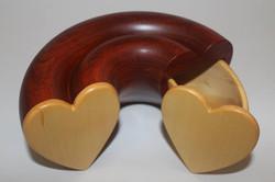 Sliding heart box