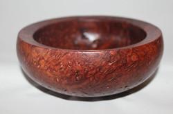 Jarrah burl bowl