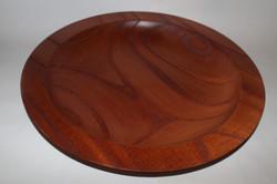 Large cedar dot bowl