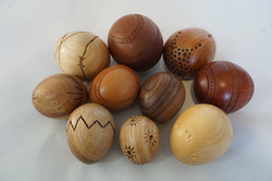 Timber eggs