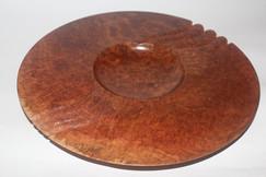 Red mallee burl platter