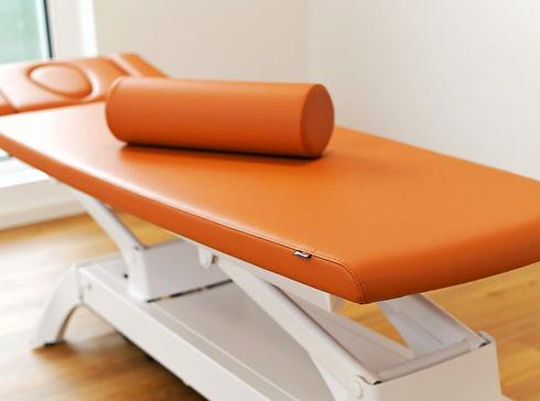 Bild Physiotherapie Bühl Behandlungsliege