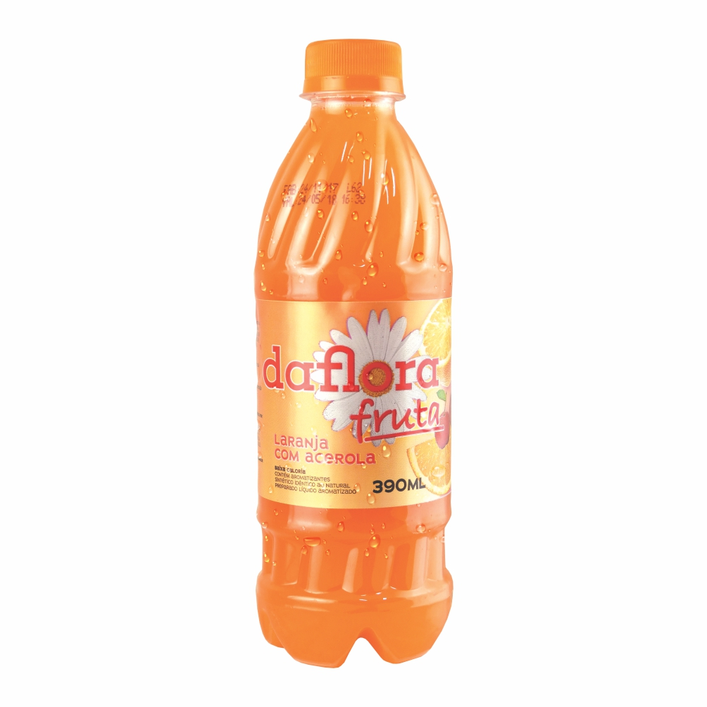 Daflora Fruta - Laranja com Acerola 390ml