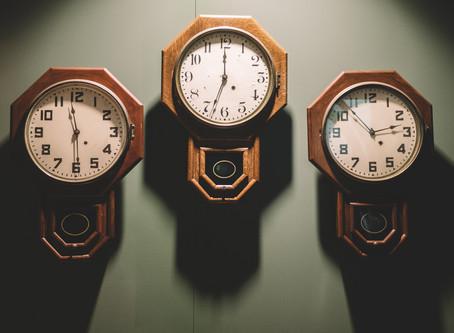 Mr Albert Potter's grandfather clock