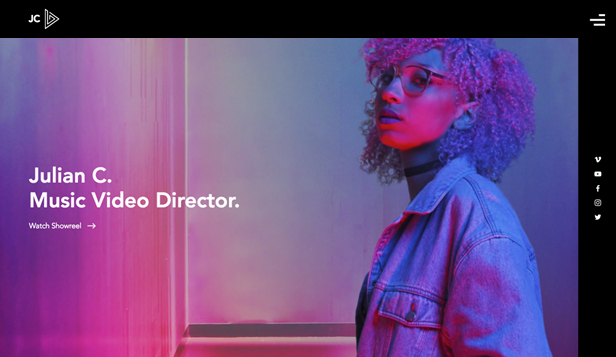 Video website templates – Music Video Director