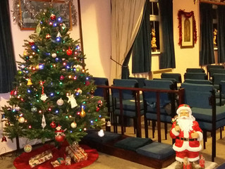 All set for Christmas services