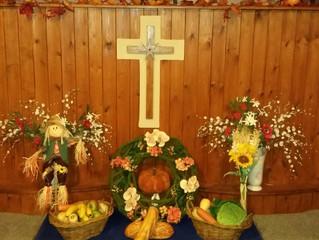 Sunday 22nd September Harvest Festival