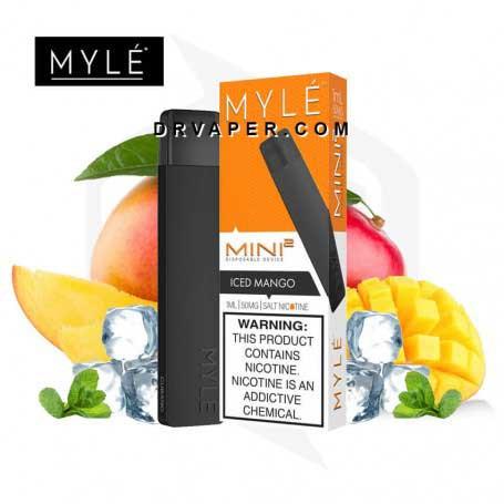 myle-mini-v2-iced-mango-disposable-devic