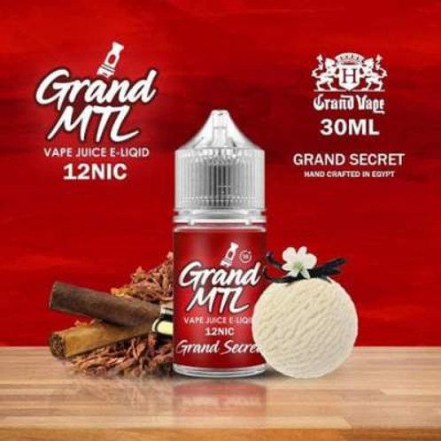 Grand MTL Cigar Vanilla