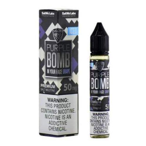 VGOD Purple Bomb   SaltNic , nicotine salt