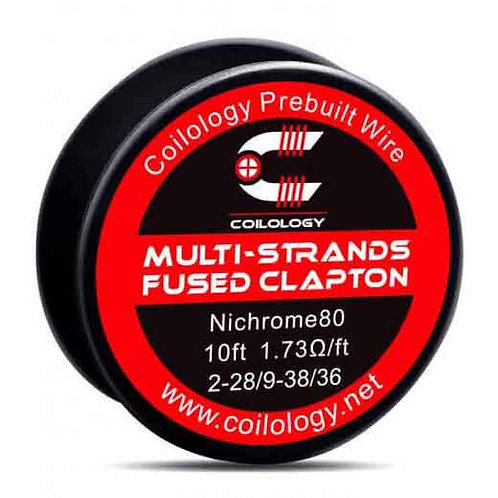 COILOLOGY Multi-Strands Fused Clapton Spool Wire 10ft