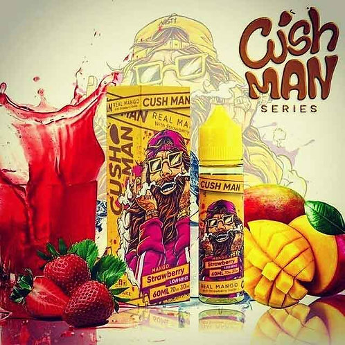 CUSH MAN SERIES – MANGO STRAWBERRY – NASTY JUICE 60ML