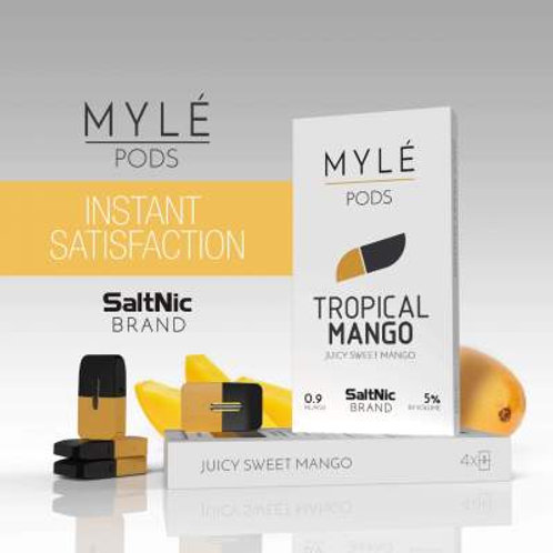 Myle Tropical Mango By Salt Nic (one pod)
