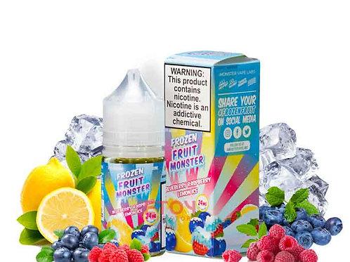 Frozen Fruit Monster Salt – Blueberry Raspberry Lemon Ice