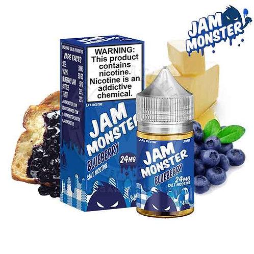 BLUEBERRY BY JAM MONSTER SALT NIC 30ML