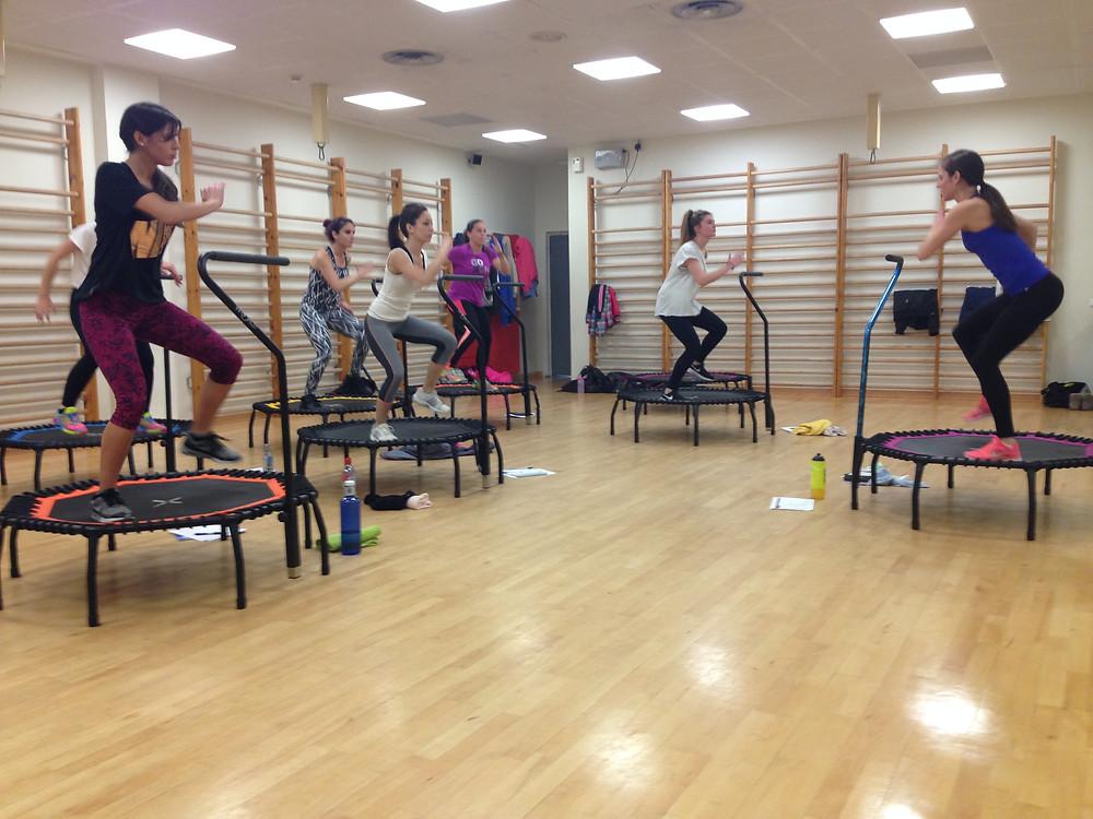 Participantes formación Worldjumping fitness