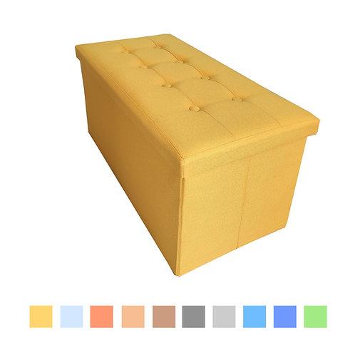 Panca contenitore in Lino