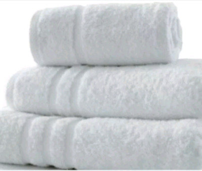 Tris asciugamano+ospite+telo bagno Hotel
