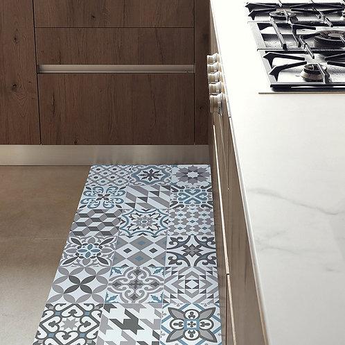 tappeto passatoia vinile maiolica stampa digitale