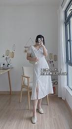 First Love Retro White Dress | 初恋白月光法式复古裙