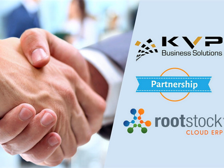 KVP Partners with Rootstock Software
