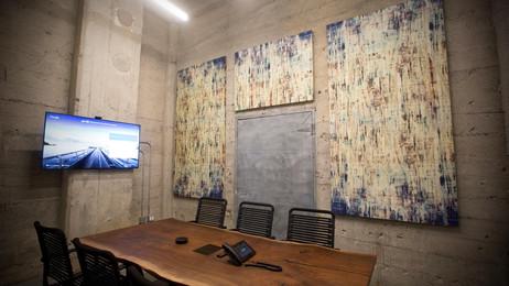 Custom Printed Sound Absorption Panels