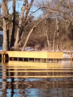Steel dock repair