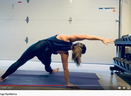 High-Intensity Yoga Plyo Flow