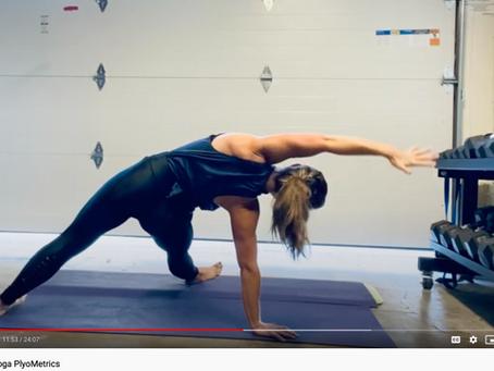 High-Intensity Yoga Plyo Flow