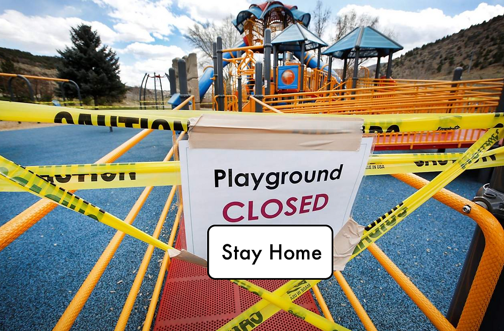 playground closure, covid-19