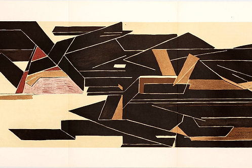 Pablo Palazuelo, Abstract, 1955 - triptych