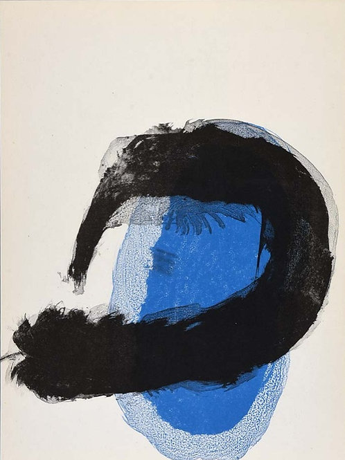 Joan Miro, Untitled, 'Blue', 1961
