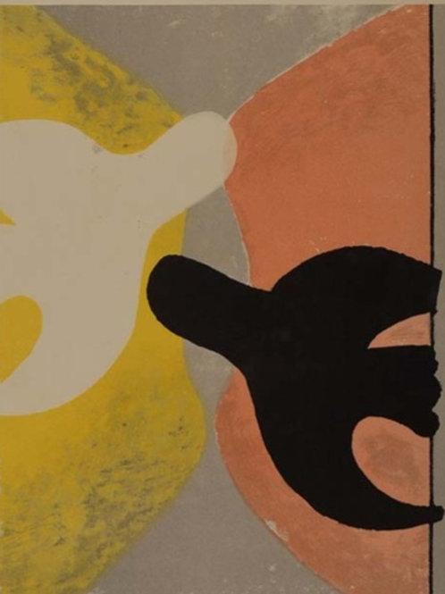 Georges Braque, Resurrection de l'oiseau, 1958