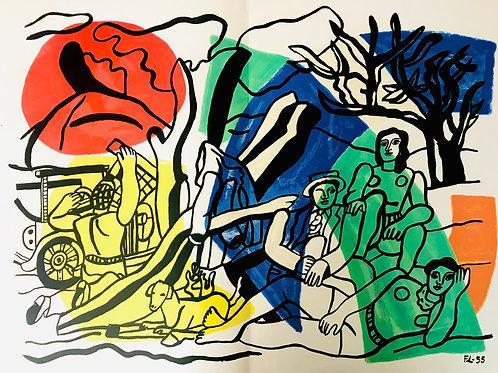 Fernand Leger, La Partie de Campagne, 1960